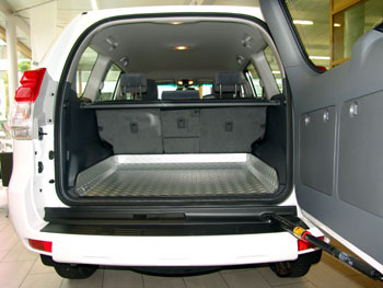 Dune-Technology Land Cruiser Trunk Alu Lining