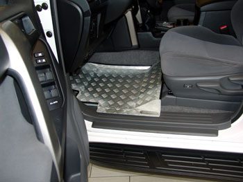 Dune-Technology Land Cruiser Floor Alu Lining
