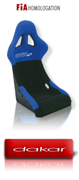 Dakar - Sport Seats with FIA homologation
