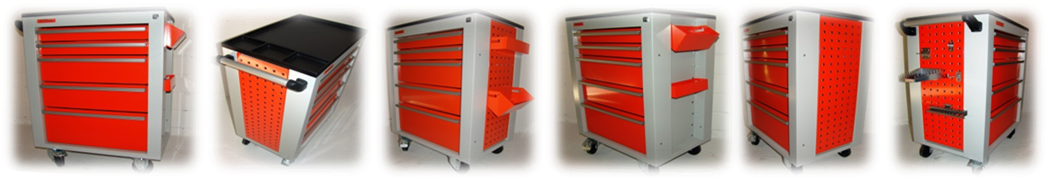 Dune-Technology - Tool Trolley D7, D5