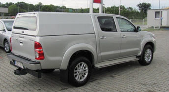 Dune-Technology Aluminum Hard-Top Double Cab & Extra Cab