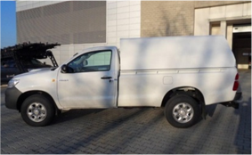 Dune-Technology Aluminium-Hardtop – Single Cab / Long Cargo