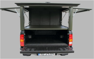 Dune-Technology Aluminum Hard-Top Long Cargo